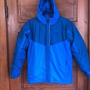 Columbia Omni Tech blue winter coat size 14-16